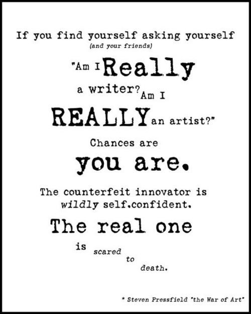 Am I Really A Writer