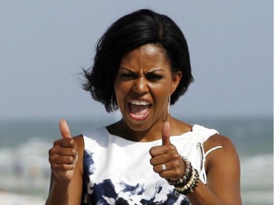 Michelle Obama stealersaga.com